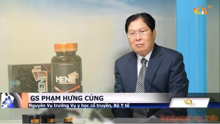 Giáo sư Phạm Hưng Củng nói về MenF 1h