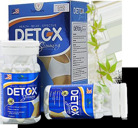 Viên uống giảm côn Detox Slimming Capsule