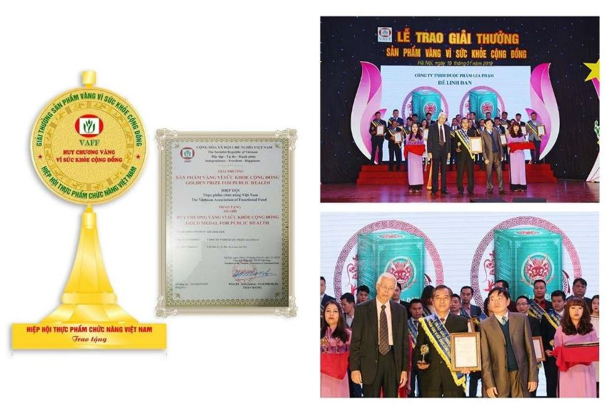chứng nhận và giải thưởng