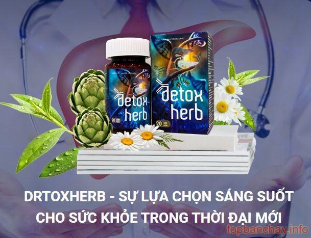 detox herb có an toàn không