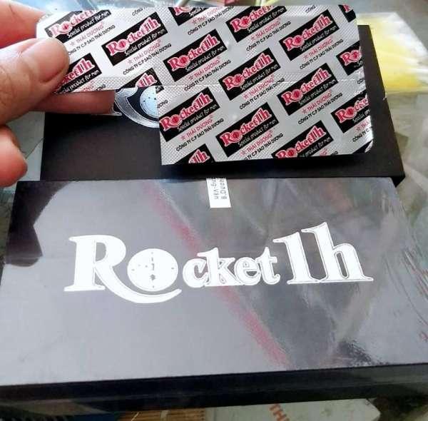 Rocket 1 h tác dụng trong bao lâu
