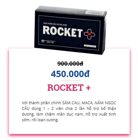 giá bán rocket + 1h