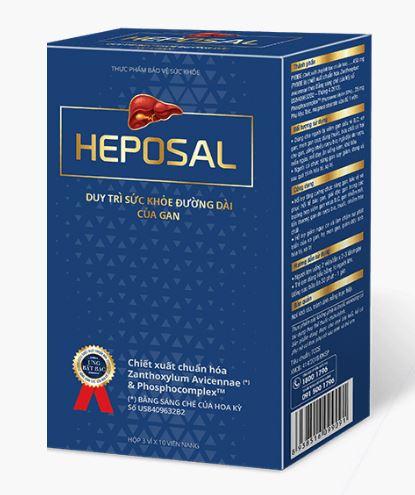 heposal giải độc gan