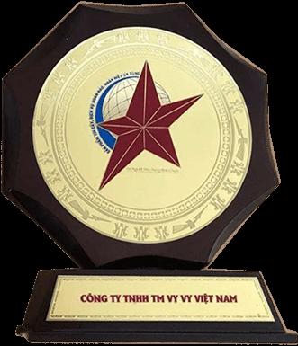 Huy chương vàng thương hiệu Việt