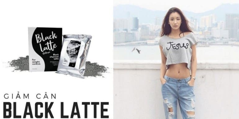 Review giảm cân Black Latte