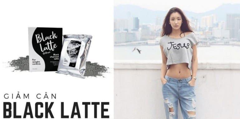 Review giảm cân Black Latte