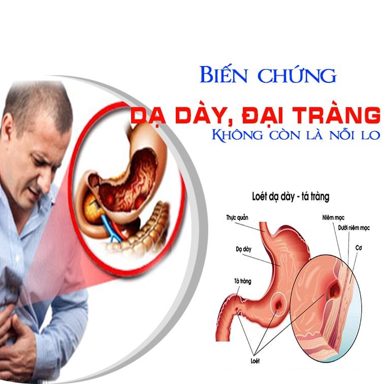 biến chứng viêm loét dạ dày, tá tràng