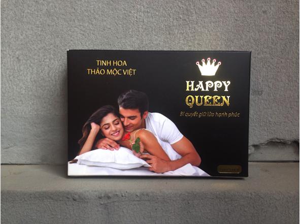viên đặt happy queen