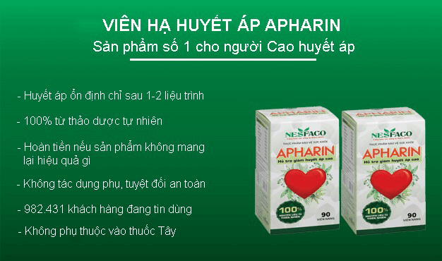apharin có tác dụng gì