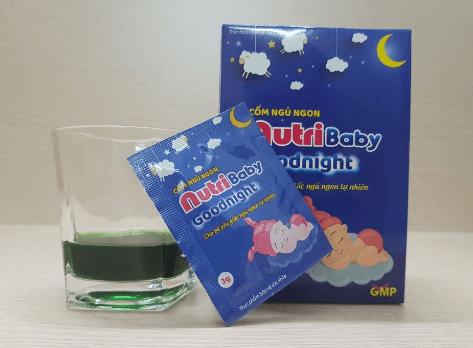 cách sử dụng cốm ngủ ngon nutribaby