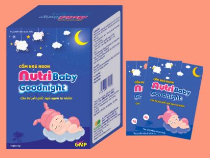 cốm ngủ ngon nutri baby goodnight có tốt không