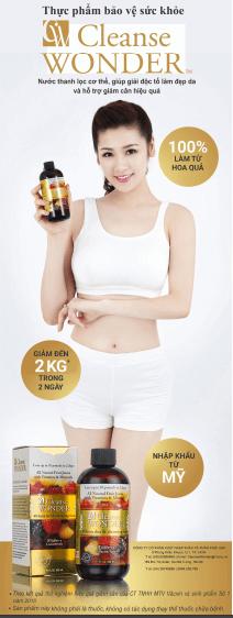cleanse wonder giảm cân