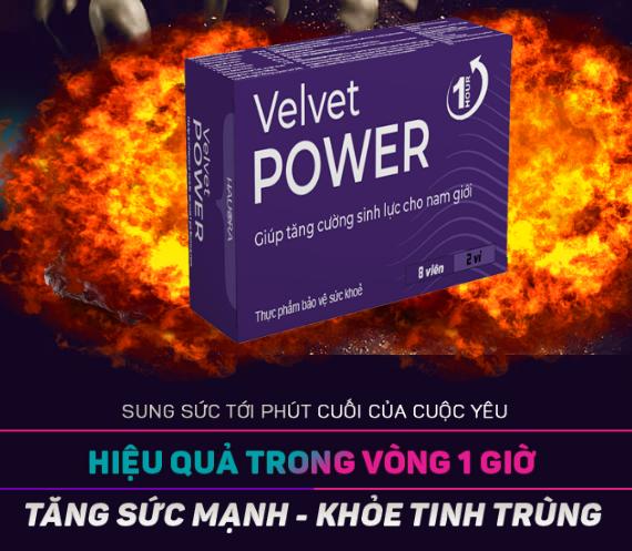 velvet power 1h giá bao nhiêu