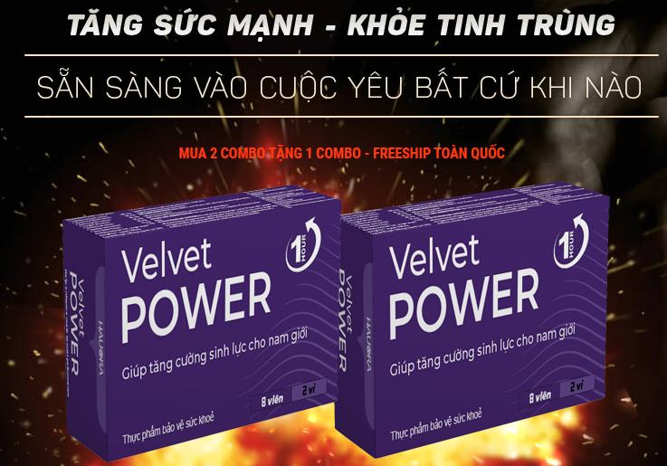velvet power 1hour