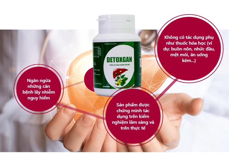 ưu điểm của detoxgan