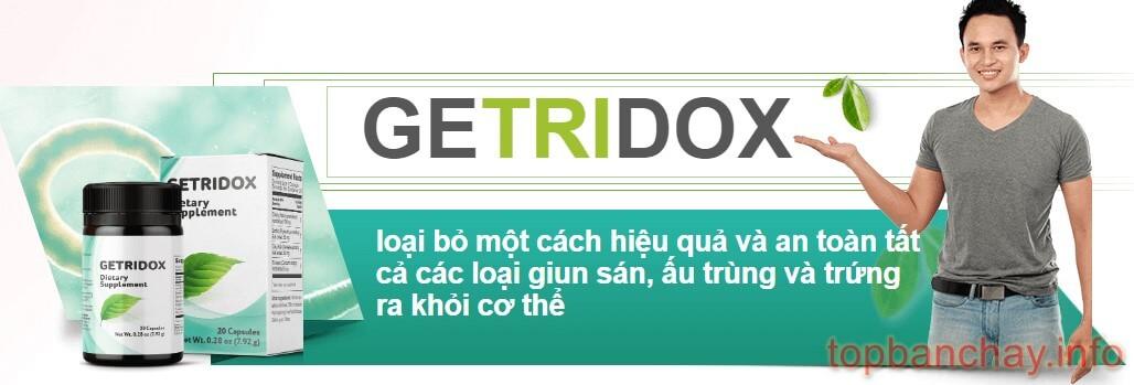 công dụng của getridox