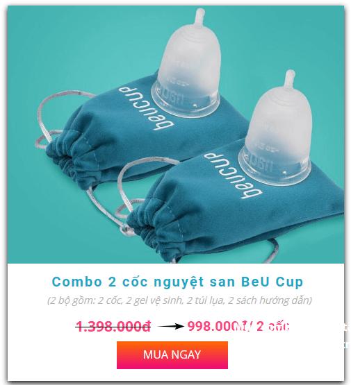 giá bán 2 cốc beu cup