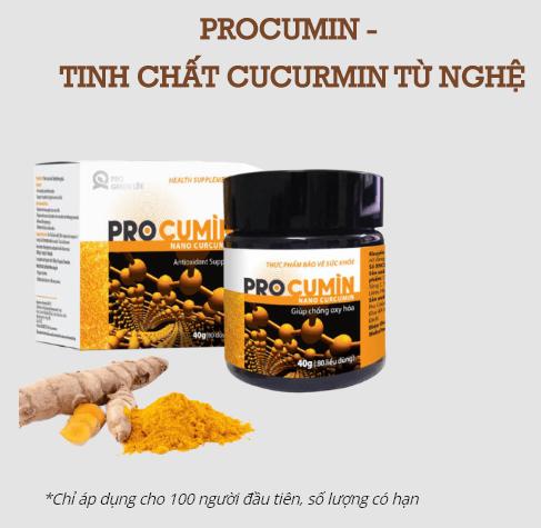 procumin - nano curcumin mua ở đâu