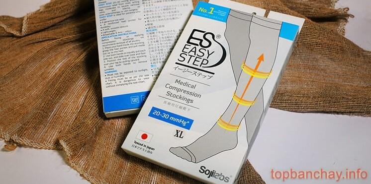 review đánh giá vớ nén y khoa easy step