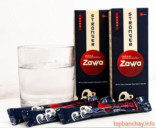 cách sử dụng nước uống sinh lý zawa