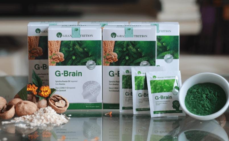 cốm trí não g-brain có tốt không