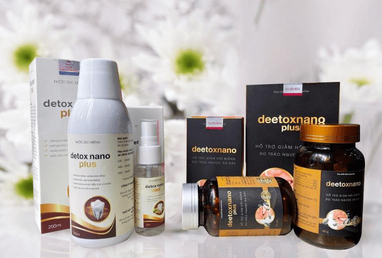 Bộ sản phẩm Deetox nano giá bao nhiêu