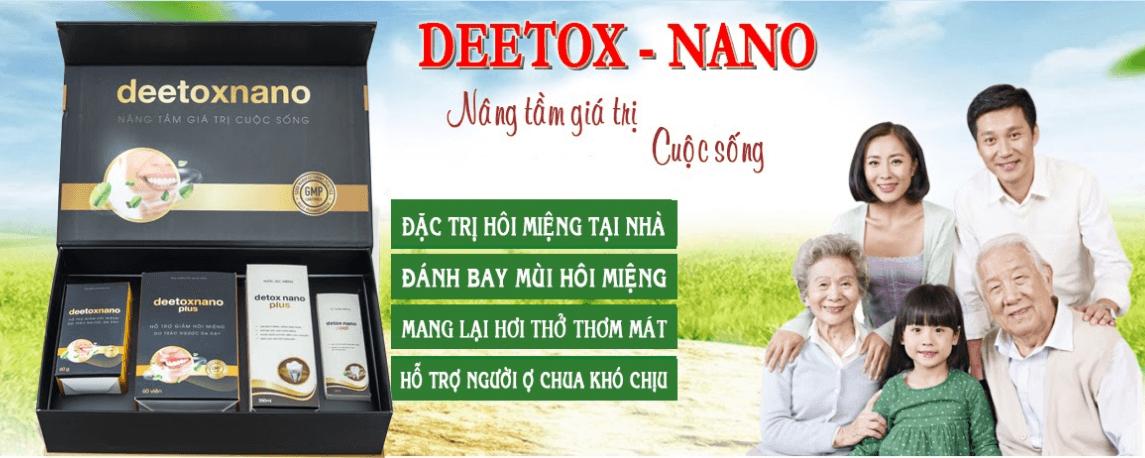 công dụng của deetox nano