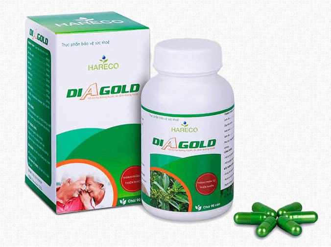 thuốc tiểu đường diagold giá bao nhiêu