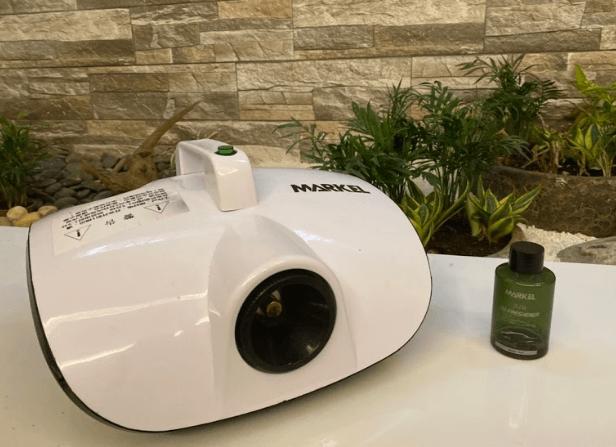 cấu tạo máy khử mùi ô tô markel