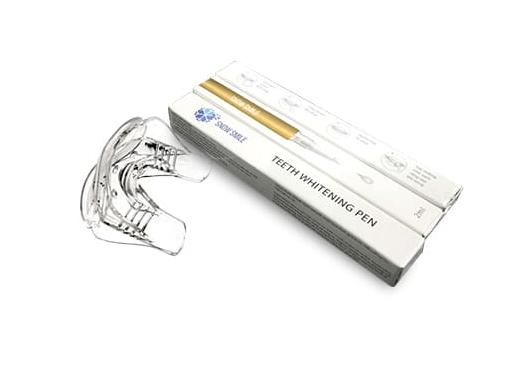 combo 2 bút vàng và 1 máy ngậm trắng răng snow smile