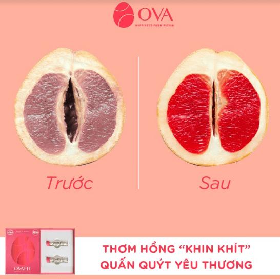 dùng ovafit vùng kín của bạn sẽ hồng và khít hơn