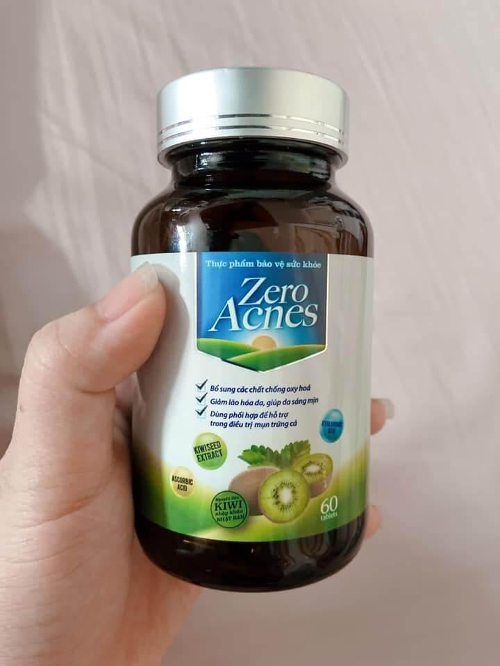 viên uống hoa quả zero acnes có tốt không