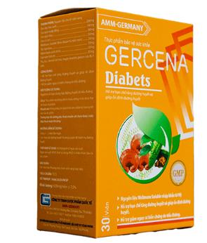công dụng gercena diabets