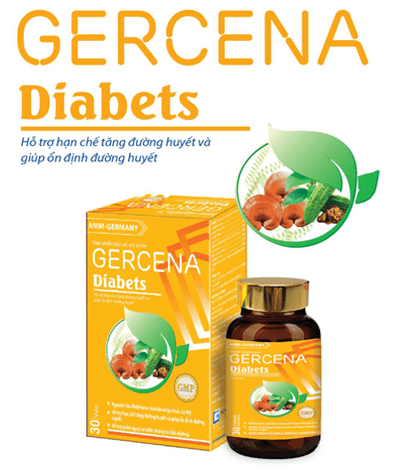 gercena diabets có tốt không