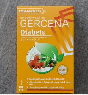 gercena diabets giá bao nhiêu