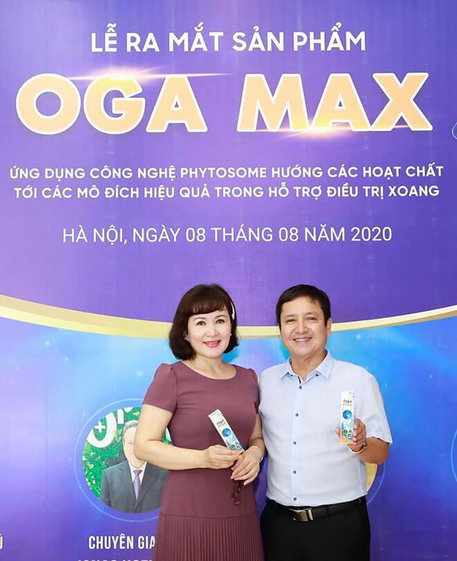 lễ ra mắt sản phẩm ogamax