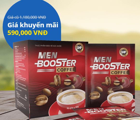 men booster coffee giá bao nhiêu