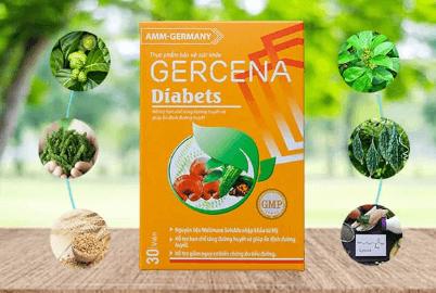 thành phần gercena diabets