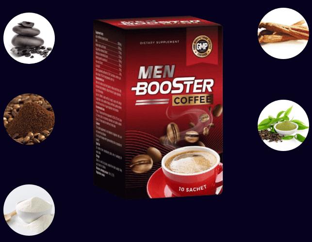 thành phần men booster coffee