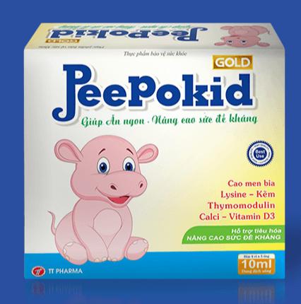 công dụng peepokid gold