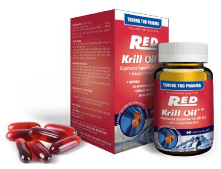 red krill oil có tốt không