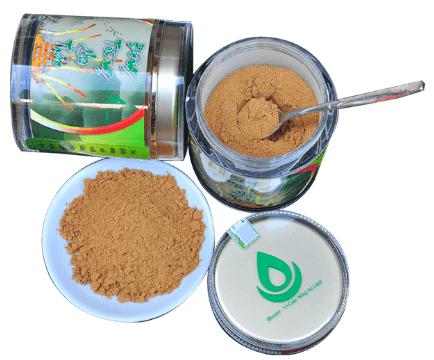 sản phẩm đông trùng hạ thảo được bào chế dạng bột dễ sử dụng