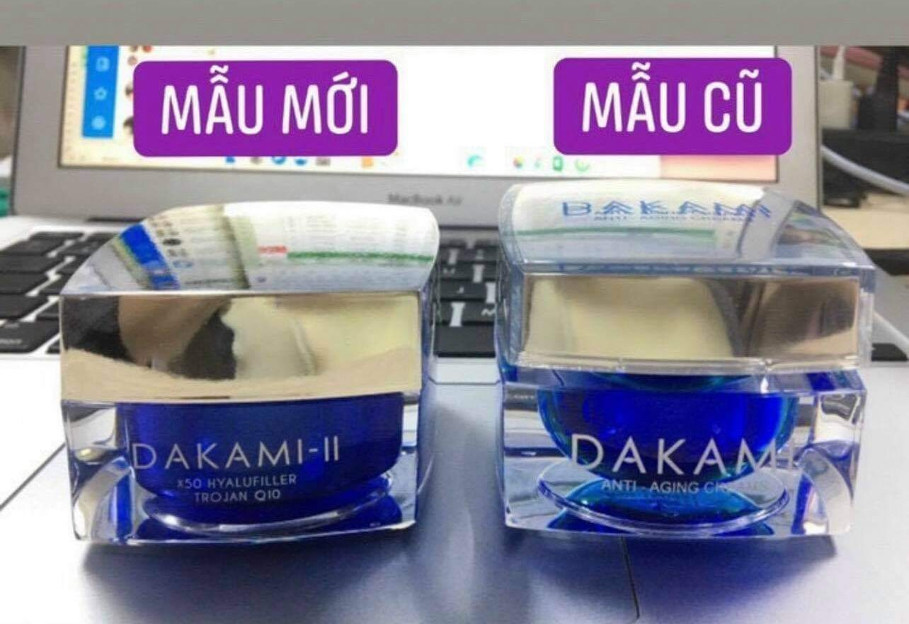 phân biệt dakami mẫu mới và mẫu cũ
